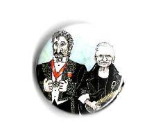 "Johnny Hallyday / Jean Jacques Goldman  "" Badge """