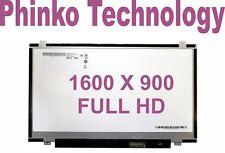 "NEW 14.0"" Slim LED Screen B140RW02 V.0 V.1 V.2 1600x900 FULL HD HP Folio 9480m"