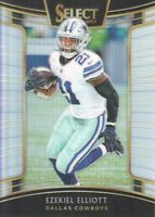 2018 Select Football Prizm Silver #93 Ezekiel Elliott Dallas Cowboys