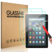 For Amazon Fire HD 7 2019 9th Gen. Tablet Tempered Glass Screen Protector Cover