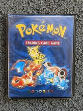 More details for original empty pokemon card album / binder / folder 1999 wotc | 5/10 condition