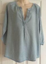 Gap Ladies BLEACHED shirt blouse size L BNWT