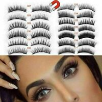 3D Magnetic Eyelashes Reusable Triple Magnet Long False Eye Lashes Extension UK