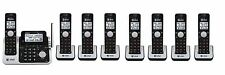 At&T Cl83201 Cl83101 Cl83401 Cl83451 Dect 6.0 Cordless Phone System w 8 Handsets
