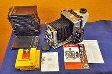 Linhof Technika 9x12 + Xenotar 1:3,5/135 mm mit viel Zubehör many accessories
