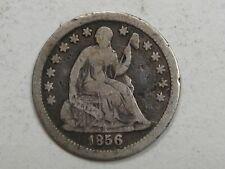 1856 Seated LIBERTY Half Dime.  #21