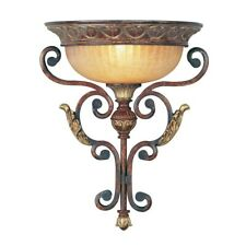 Livex Lighting Villa Verona Wall Sconce, Verona Bronze - 8580-63
