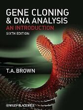 Gene Cloning and DNA Analysis : An Introduction by T. A. Brown (2010, Paperback)