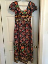 Beautiful Vintage Long Cotton Summer Dress