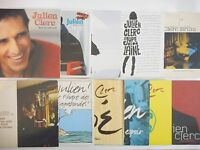 || LOT CD Single Collector || JULIEN CLERC  : 11 CD (...BRUNI, BIOLAY)