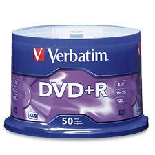 Verbatim DVD R 4.7gb 50pk Spindle 16x 95037