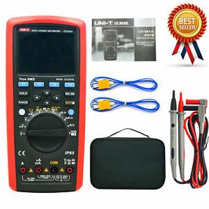 UNI-T UT181A True RMS Datalogging LCD Digital Multimeter Auto Range 60000 Cou✦Kd