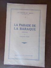 La Parade de la baraque. Souvenirs. Lugne-Poe
