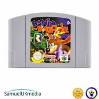 Banjo-Kazooie (N64) (Cartridge Only) **GREAT CONDITION**