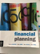 Financial Planning Wiley by Warren McKEOWN Mike KERRY Textbook