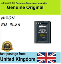 Genuine Nikon EN-EL23 Battery for CoolPix P600 P610 P900 S810C B700 MH-67