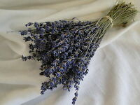 150 Stems Natural Dried French Provence Fragrant Lavender Bunch Tied by Hand.