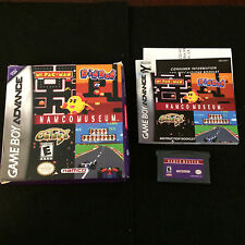 Namco Museum (Game Boy Advance) Complete In Box/CIB: Cleaned & Tested!!!