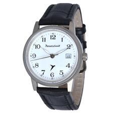 Messerschmitt Aviator Watch ME-9673Ti With Leather Wrist Band 10ATM Ronda Titan