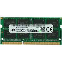 Micron 16GB PC3L-12800S DDR3L-1600MHZ 1.35V 204Pin SO-DIMM Laptop Memory Ram