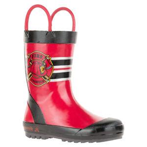 Kamik Todler Fireman Rain Boot   Kamik Todler Fireman Rain Boot   EK9111N