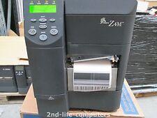Zebra Z4M Z4M00-0004-0000 Thermal Barcode Label Printer Parallel Prints lines