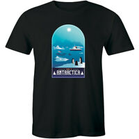 Voyage To Antarctica Penguins and Sea, Mountain Men's T-shirt Gift Animals