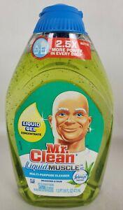 Mr Clean Liquid Muscle Cleaner Gel Concentrate Febreze Meadows Rain Scent 16oz