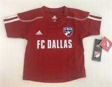 NWT Adidas - Baby Toddler 12M - Jersey Shirt, MLS - FC DALLAS
