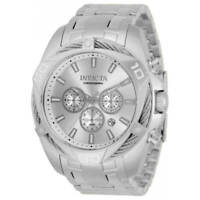 Invicta Men's Watch Bolt Chronograph Silver and Gold Dial Bracelet 34126