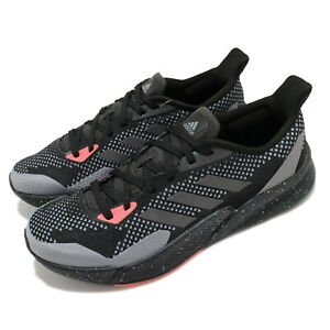 adidas X9000L2 M Black Grey Signal Red Men Running Casual Shoes Sneakers EH0030