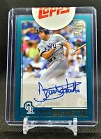 2020 Topps Archives Dante Bichette Fan Favorites Auto FFA-DB