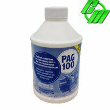 A/C Compressor Refrigerant Oil PAG 100 R134A Lubricant w/ Dye Glycol 8oz Bottle