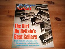 CAR MAGAZINE AUG-1988 - Peugeot 405 Mi16, Citroen BX GTi 16v, Renault 21 Turbo