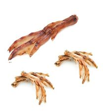 Duck Feet for Dog Chews - 100 ct Bulk Healthy teeth and Gums