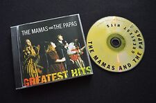 THE MAMAS AND THE PAPAS GREATEST HITS RARE CD!