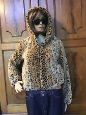 Womens Luz Sz M Leopard Coat