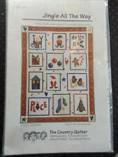 Jingle All the Way  The Country Quilter Pattern