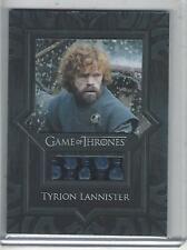 Game of Thrones Season 8 Relic Card Set (V13 - V17)