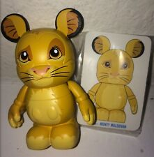 """Lion King Simba vinylmation Disney 3"""" Inch Animation 1 Topper With Card Combo"""