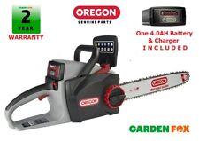 "SALE - OREGON 16"" CS300 4.0ah 36V Cordless Chainsaw 573019 5400182213956 D2"