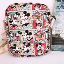 mickey minnie playing shoulder bag Cycling bags money phone bag canvas new