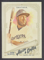 Topps - Allen & Ginter 2018 - Base # 274 Domingo Santana - Milwaukee Brewers