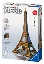 Puzzle 3D Building Tour Eiffel, 216 pezzi - Ravensburger 12556