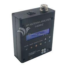 MR300 Digital Shortwave Antenna Analyzer Meter Tester 1-60M f/ Ham Radio+Battery