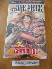 // NEUF ONE PIECE LOG 7 grand format Eiichiro Oda Collection Hachette MANGA VF