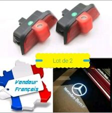 2x LED COURTOISIE PORTE PROJECTEUR LOGO MERCEDES BENZ CLASSE C W204 Berline