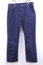 vintage mens indigo blue LEVIS 517 jeans denim made in USA orange tab 38 x 30