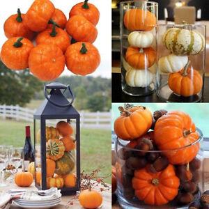 1PC Halloween Mini Artificial Pumpkin Foam Fake Vegetable Fruit Home Party Decor