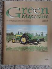 Green Magazine John Deere April 2007 / JD 435 KBL Disc